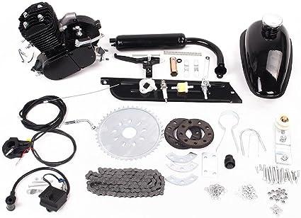 Kinbelle 80cc - Kit de Motor de 2 Tiempos para Bicicleta motorizada con Gas de Combustible: Amazon.es: Deportes y aire libre