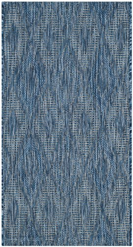 Safavieh Courtyard Collection CY8522-36822 Navy Indoor/ Outdoor Area Rug (2'7