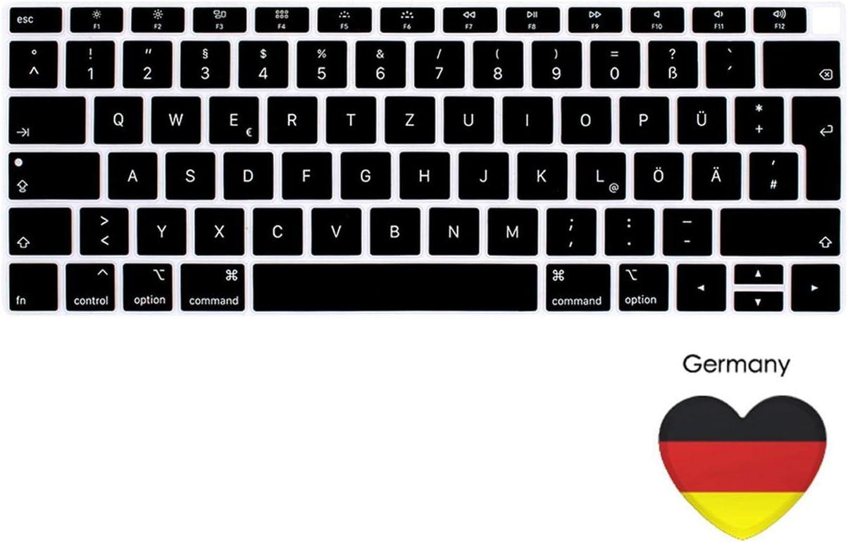 European Version for MacBook air 13 Notebook Keyboard Cover Laptop Keyboard French German Spanish Italian Japanese EU-Germany
