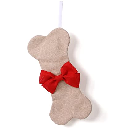 pet supplies after holiday deal dog christmas stocking bone red