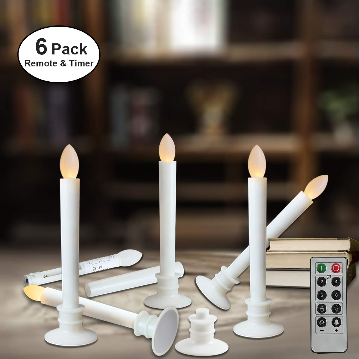 Hampton Bay 10 Button Candle Remote Control For LED Outdoor Resin Candles New