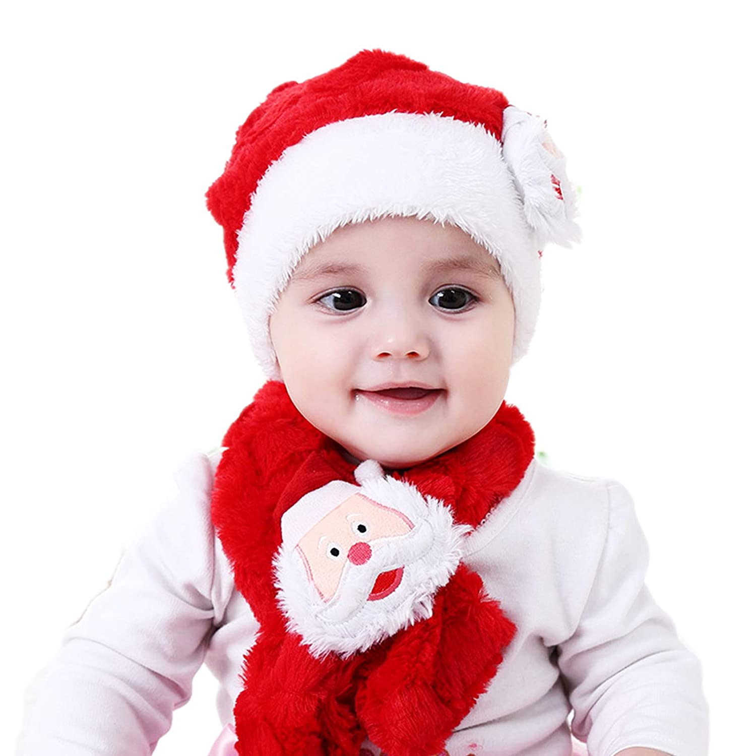b1e740ab234 Amazon.com  Christmas Cap For Baby Girl And Boy