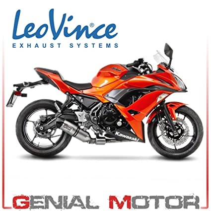 14181E Escape Completo Leovince Lv One Evo Acero Ninja 650 ...