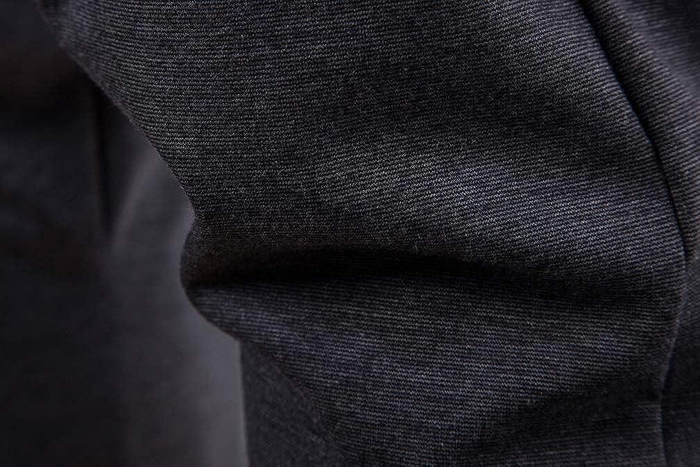 4EAELove Low Crotch Pants for Men Harem Hip Hop Stylish Baggy Joggers Elastic Waist Drawstring Dance Trousers