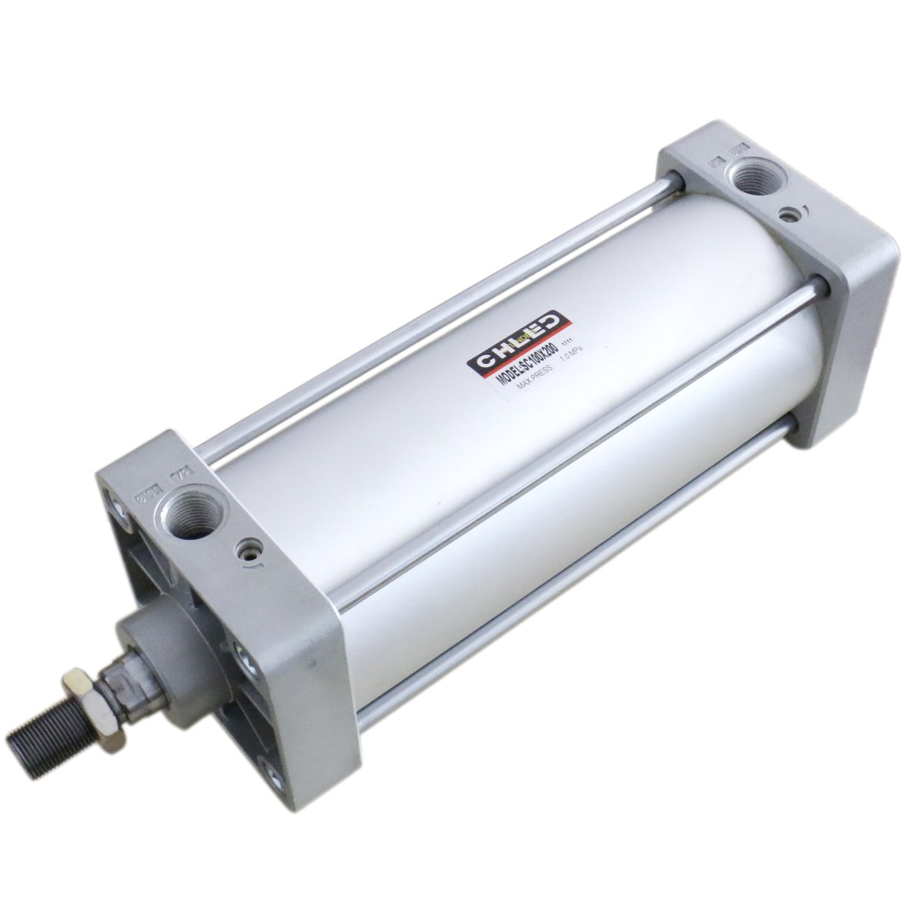 32mm Bore 200mm Stroke Screwed Piston Rod Dual Action Air Cylinder SC 32 x 200