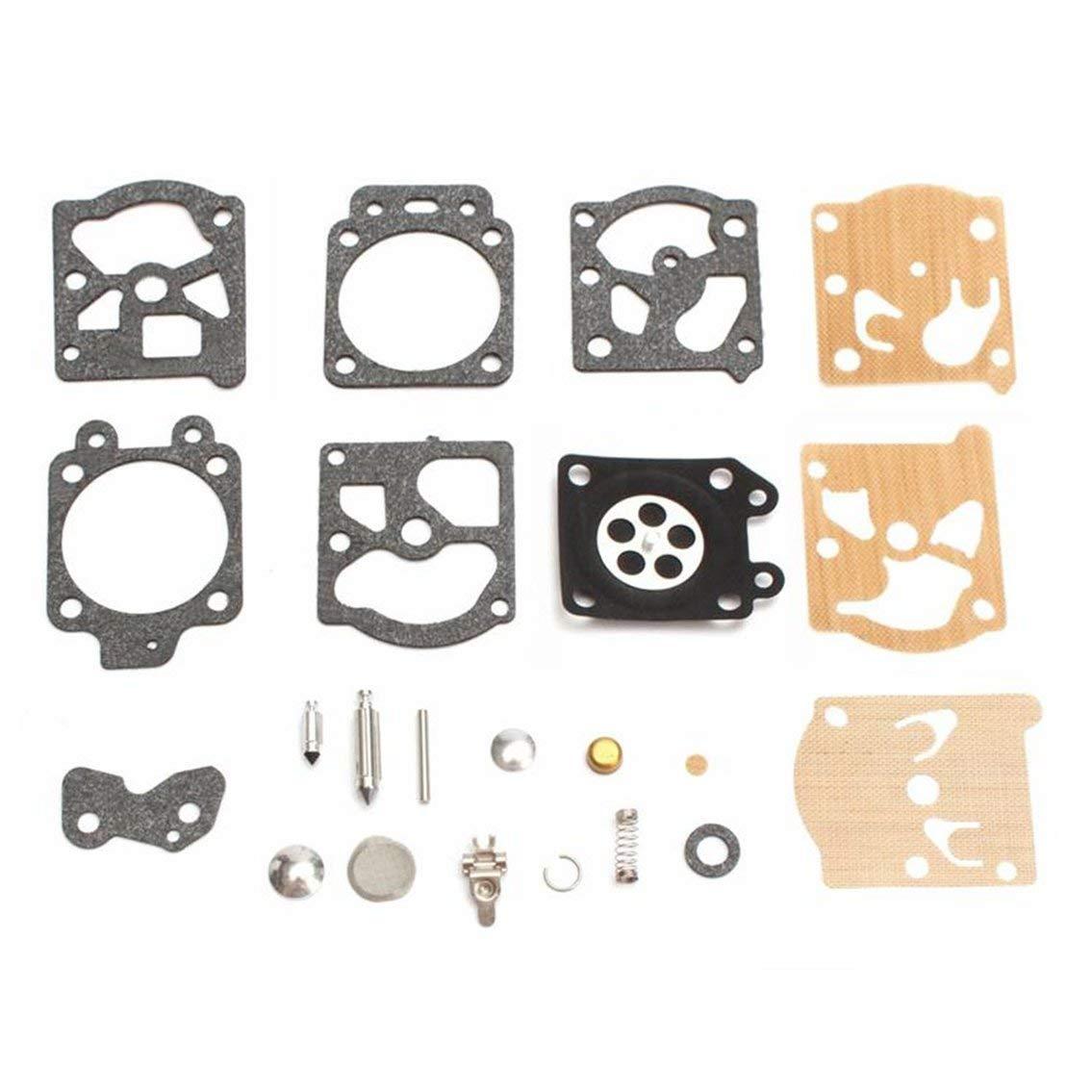 Mazur K20-WAT kit de réparation de carburateur Outil de Reconstruction Ensemble de Joints d'étanchéité pour Accessoires de Moto Walbro Carburant carburateur Alimentation (mélange de Couleurs)