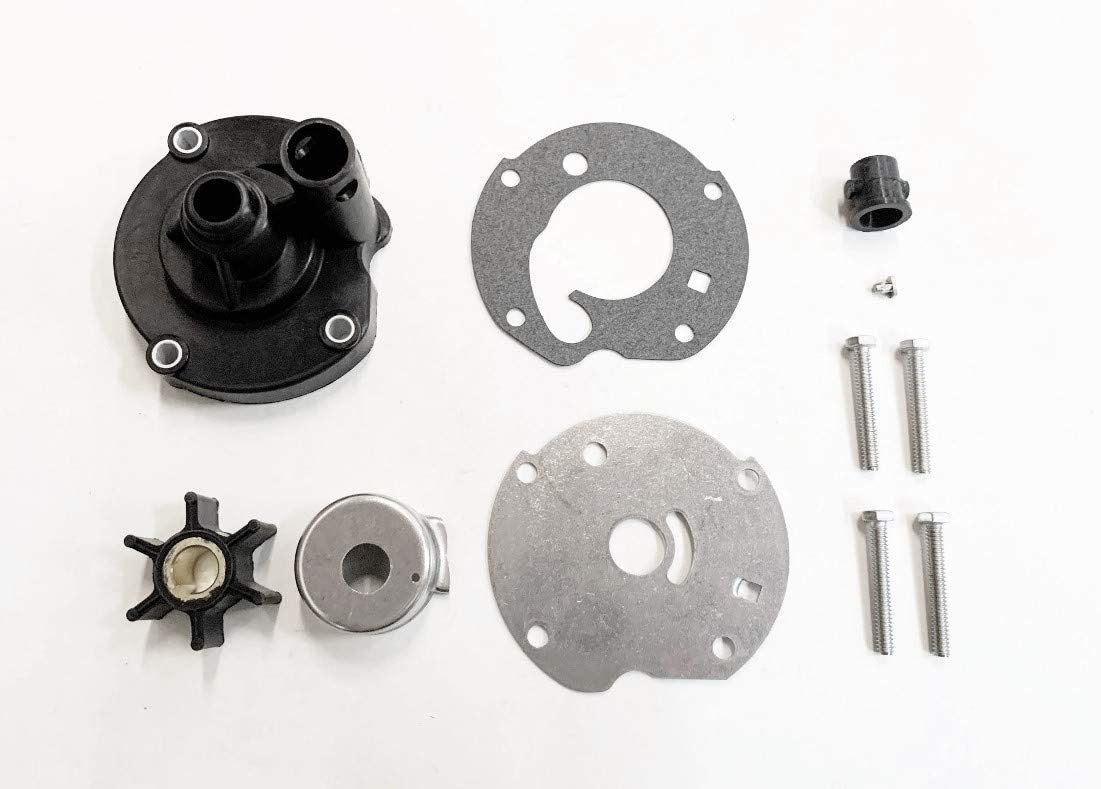 A.A Water Pump Impeller Kit for Johnson Evinrude OMC 5.5, 6, 7.5 HP Outboards - 778166, 391391, 382797, 763758