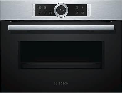 Bosch Serie 8 CFA634GS1 Integrado 36L 900W Negro, Acero inoxidable ...