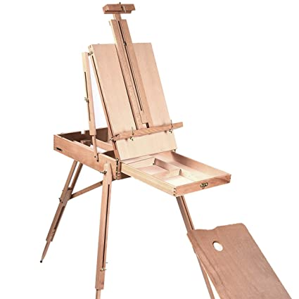 Amazon Com Portable French Style Wooden Art Easel Up To 34 Inches
