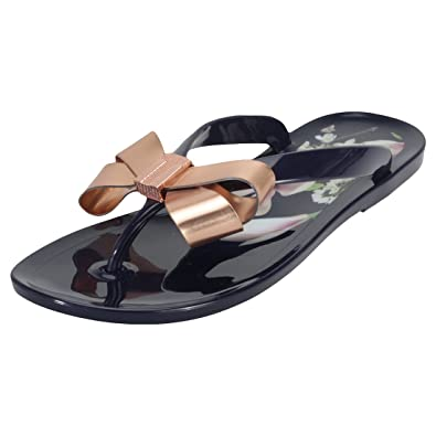 0ef8ff04f9cc Ted Baker Suzie Sandals Navy  Amazon.co.uk  Shoes   Bags