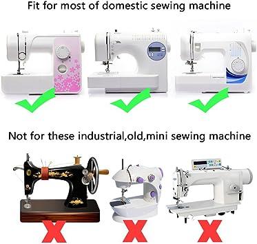 15 pcs multifunción para máquina de coser pie prensatelas pie pies ...