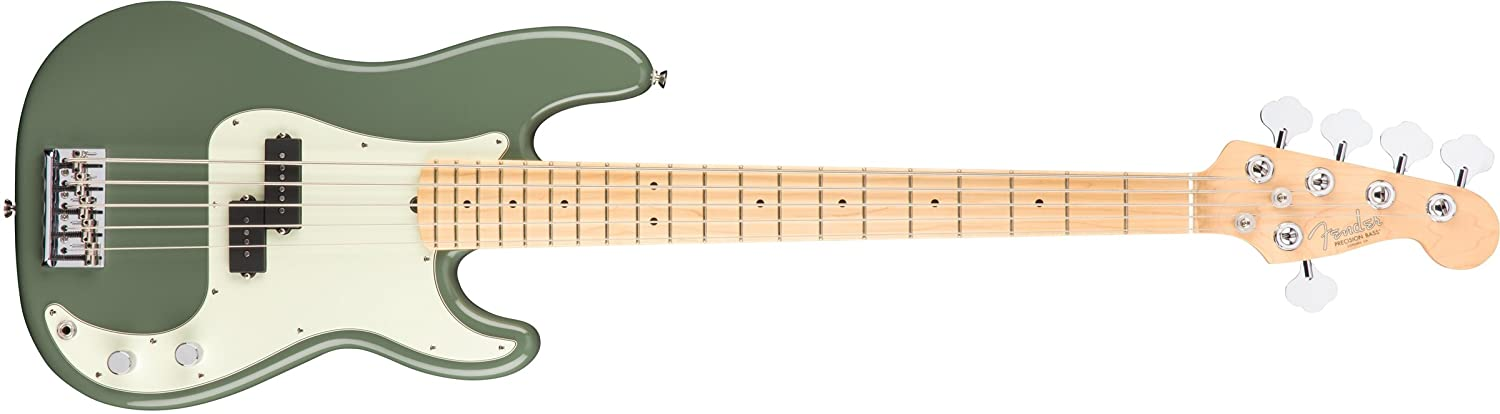American Professional Precision Bass MN Antique Olive