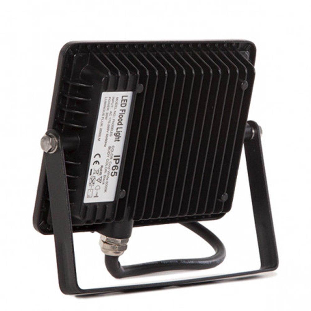 COUSON Foco LED Proyector 20W Para Exterior Graduable Luz Blanca Fr/ía 6000K Impermeable IP65 Color Negro