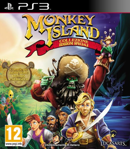 PS3 - Monkey Island Special Edition Collection - [PAL EU] ()