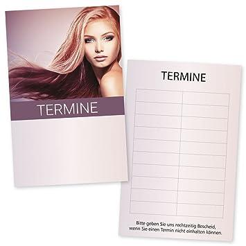 Maquillaje Studio de agenda Tarjetas Beauty Face con 10 ...