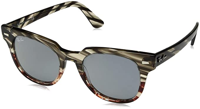Ray-Ban 0RB2168 Gafas de sol, Grey Gradient Brown Striped ...