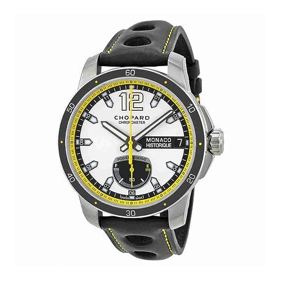 CHOPARD RELOJ DE HOMBRE AUTOMÁTICO 44.5MM CORREA DE CUERO 168569-3001: Amazon.es: Relojes