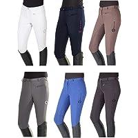 PFIFF Reithose -Yasmin- Silikon-Grip-besatz Besatzreithose - Pantalones Mujer