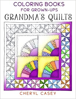 grandmas quilts coloring books for grown ups adults wingfeather coloring books volume 1 - Coloring Books For Grown Ups