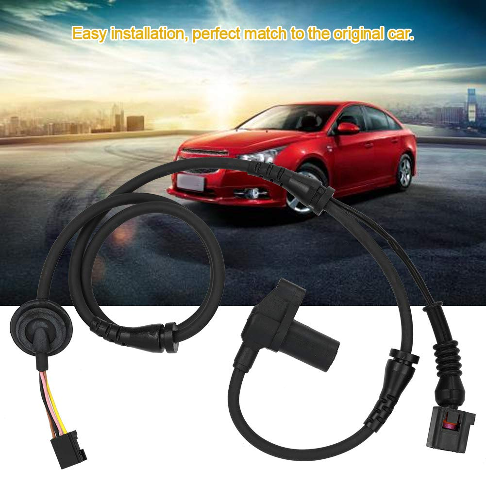 Cuque 8E0927803B Automotive ABS Wheel Speed Sensor Fit for A4 8EC Avant 8ED B7 Convertible 8H7Sedan 2001-2012 ABS Plastic Black Special