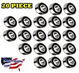 608 bearing sealed - 608-2RS Ball Bearing Dual Sided Rubber Sealed Deep Groove (20PCS)