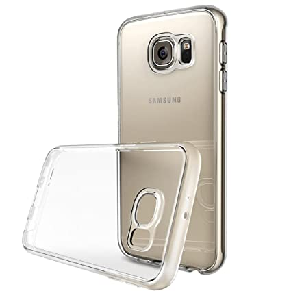 Amazon.com: Samsung Galaxy S6 Edge Case Yunbaozi Transparent ...