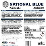 National Blue Ice Melt 20lb Bucket - Fast Acting
