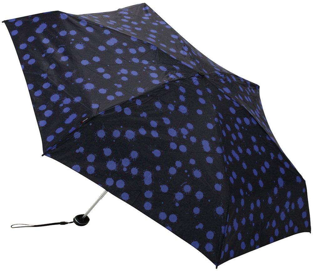 Knirps 折りたたみ傘 コンパクト 軽量 【正規輸入品】 Travel Paint Drops Lapis Lazuli KNAL815-615-6 B017DVKJ9K