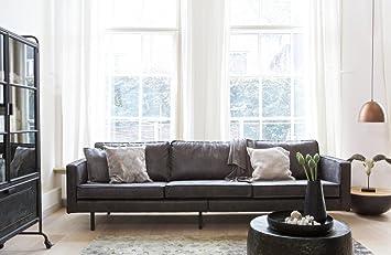 3 sitzer sofa rodeo echtleder leder lounge couch garnitur vintage ... - Sofa Für Küche