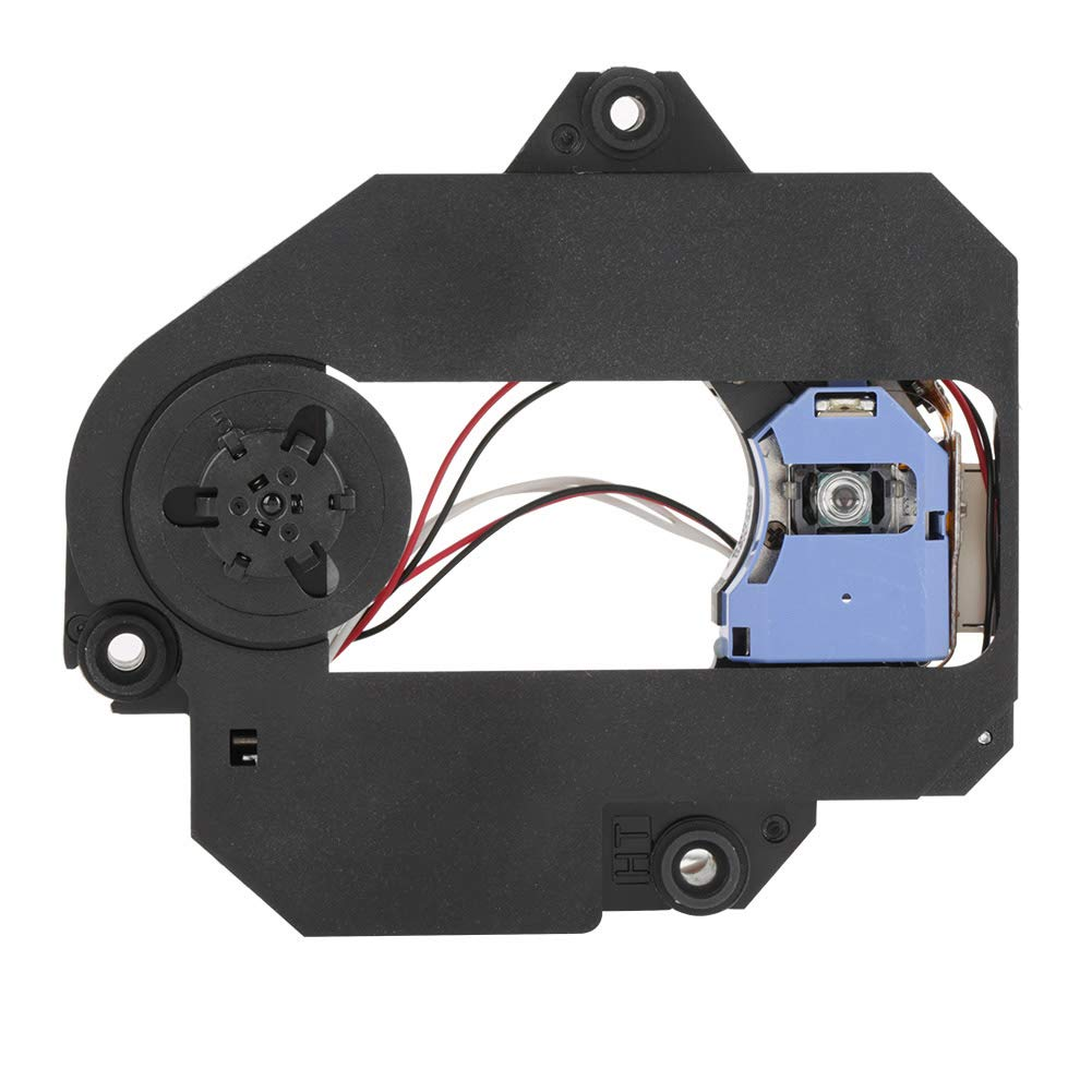 Optical Pick-Up Laser Lens Mechanism, Walfront KHM-313AAA Optical Pick-Up Laser Lens Mechanism Optical Drive Replacement Parts (Black)