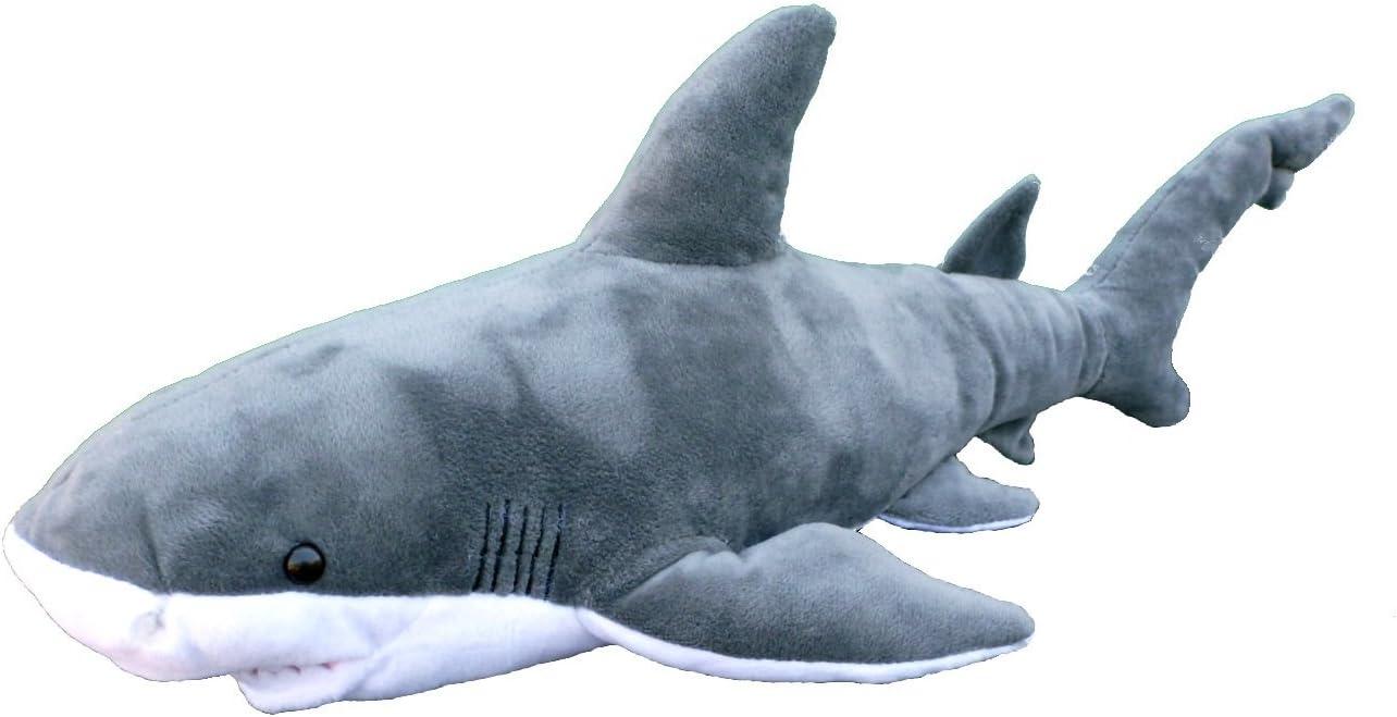 "Adore 19"" Bruce The Bull Shark Plush Stuffed Animal Toy"