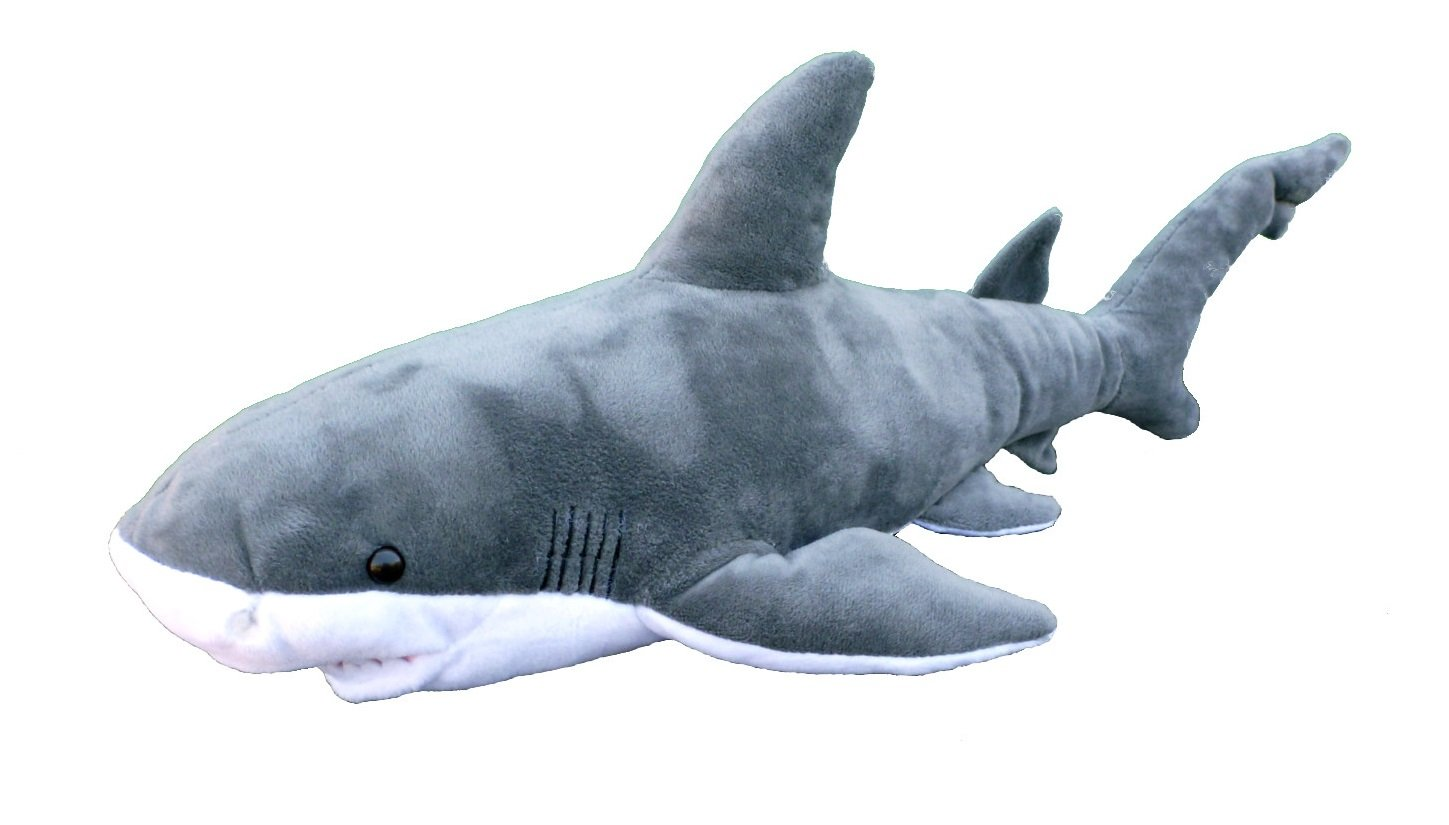 "ADORE 19"" Bruce the Bull Shark Plush Stuffed Animal Toy"