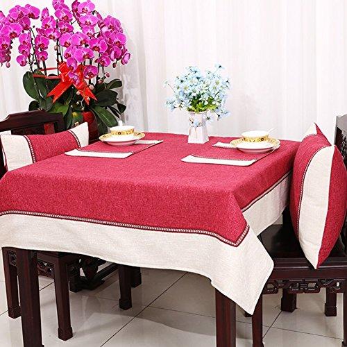 DIDIDD Continental Tablecloth Fabric Rural Tablecloth Table Cloth Cover Towels Table Cloth Table Cloth,E,140x200cm(55x79inch) by DIDIDD