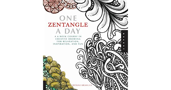 One zentangle a day one a day ebook beckah krahula amazon one zentangle a day one a day ebook beckah krahula amazon loja kindle fandeluxe Image collections