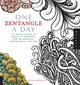 One zentangle a day one a day kindle edition by beckah krahula one zentangle a day one a day by krahula beckah fandeluxe Image collections