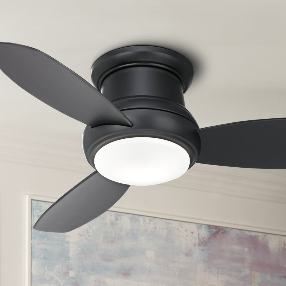 Amazon 44quot minka concept ii hugger matte black ceiling amazon 44quot minka concept ii hugger matte black ceiling fan everything else aloadofball Image collections