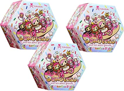 Bubble Luv Donutella and her Sweet Friends Series 2 Tokidoki Vinyl Figure