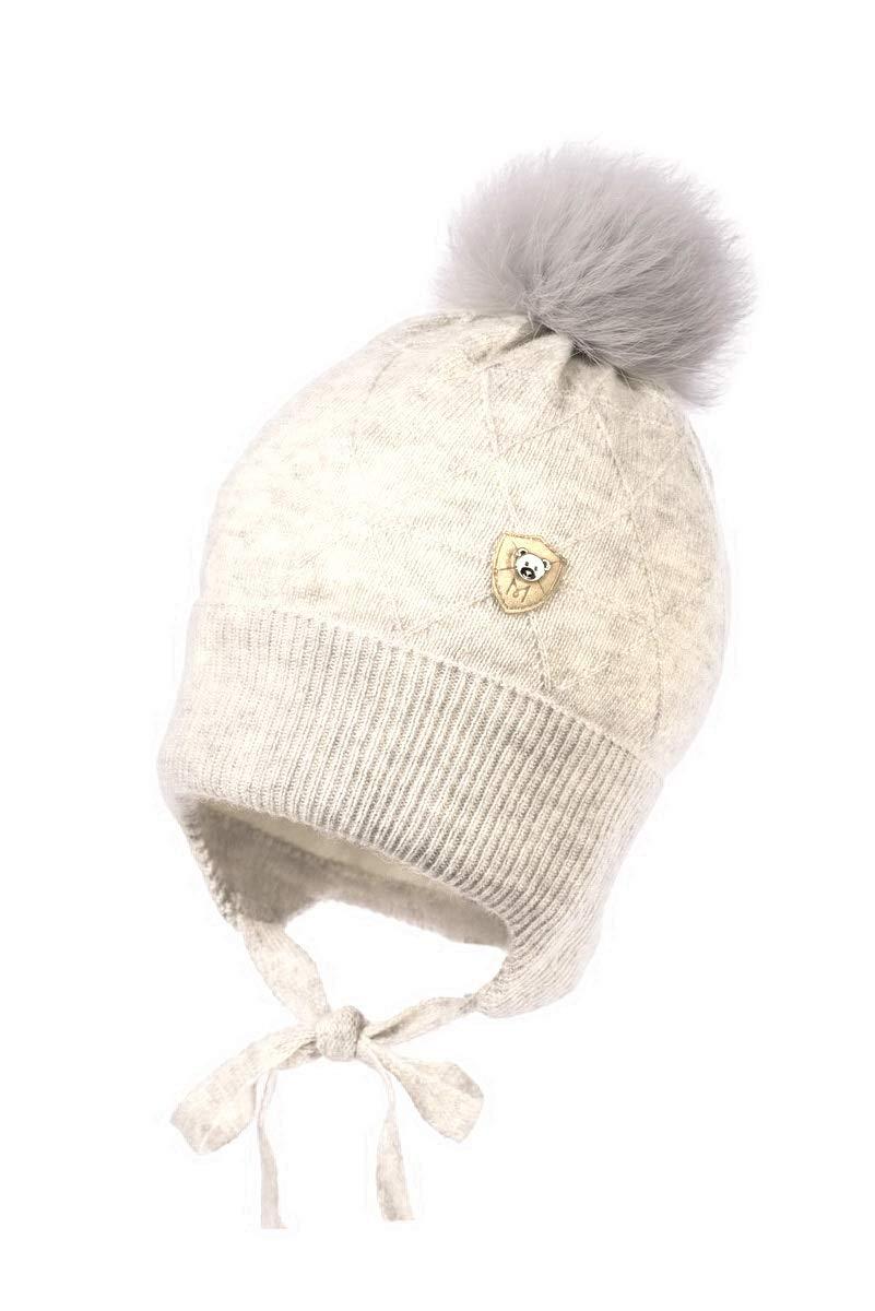 Baby Boy neonato maglia di cotone puro cashmere cappello battesimo Cap 0 3  6 9 12 3ca544785fb7