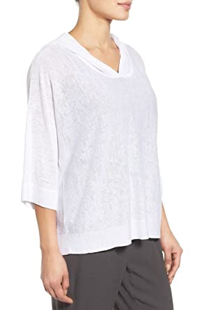 8049a918 Image Unavailable. Image not available for. Color: Eileen Fisher Organic  Linen ...