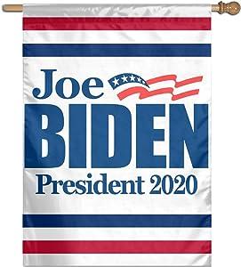 LUENSRO Joe Biden President Garden Flag Banner for House Yard Decoration 27 X 37 Inch