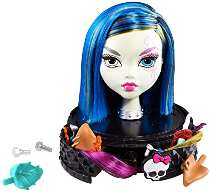 8ba1e945e0558 Image Unavailable. Image not available for. Color  Monster High Styling Head