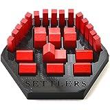 Settlers Piece Holder/Organizer (Set of 6) - Black
