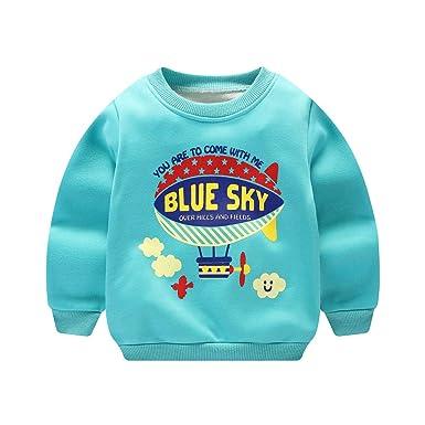 6f34cad2791 D C.Supernice Toddler Boys Girls Long Sleeve Pullover Sweatshirts ...