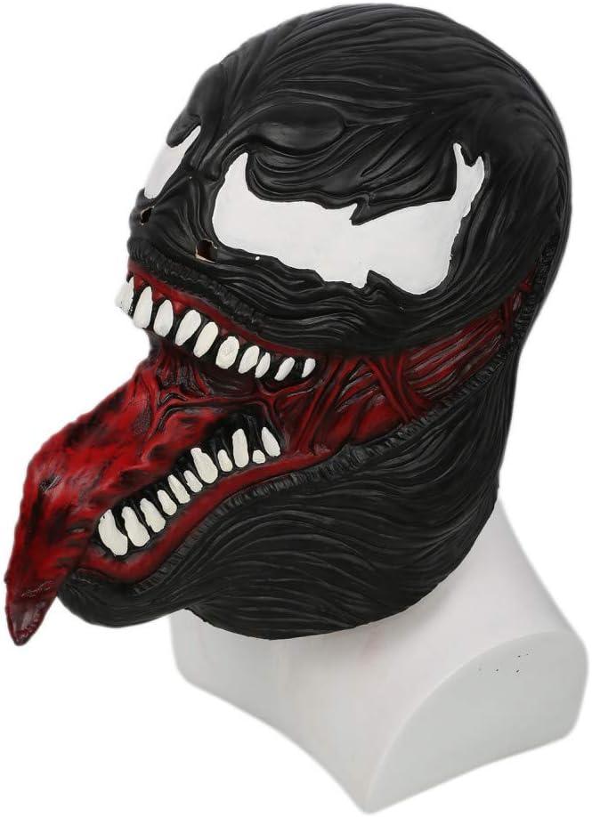 Xcoser Venom Halloween Maschera Latex Casco Integrale Movie Costume Cosplay Accessori per Uomo Abbigliamento Fancy Dress