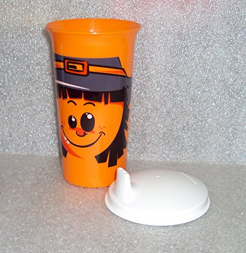 [Tupperware Big Bell Tumbler Sipper Seal Sippy Cup Halloween Scarecrow] (Cup Halloween Sipper)