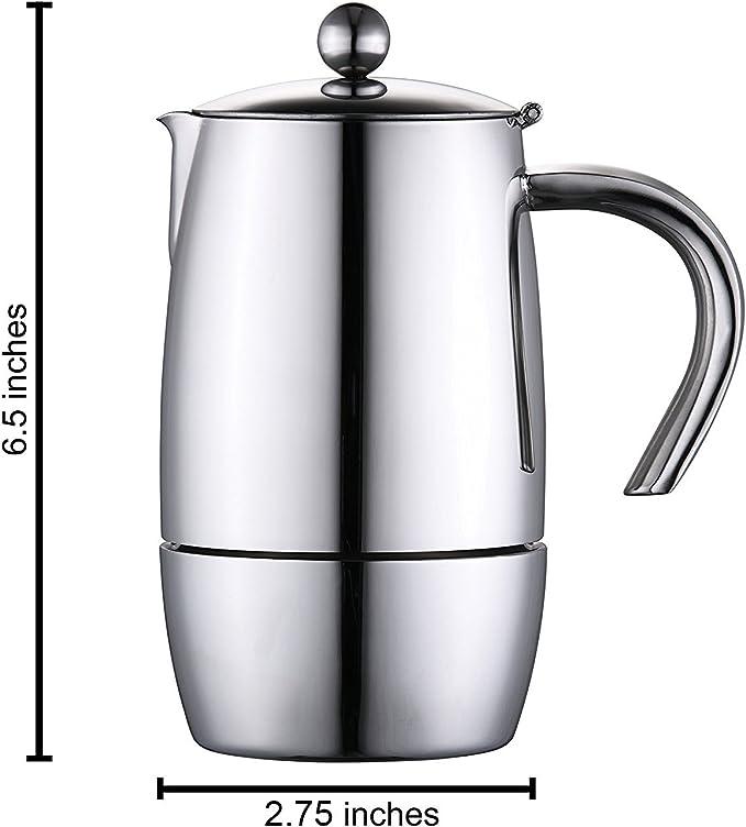 Cuisinox COF-L3 Liberta 3-Cup Espresso Coffeemaker Cuisinox Import