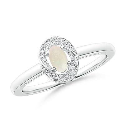 Angara 5x3mm Split Shank Pink Tourmaline Diamond Ring in Yellow Gold ecCUUFxT