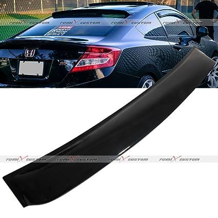 Amazon.com  2012 - 2015 Honda Civic 2DR Coupe Rear Roof Window Visor  Spoiler Wing 13 14  Automotive 6d8ae2c70f7