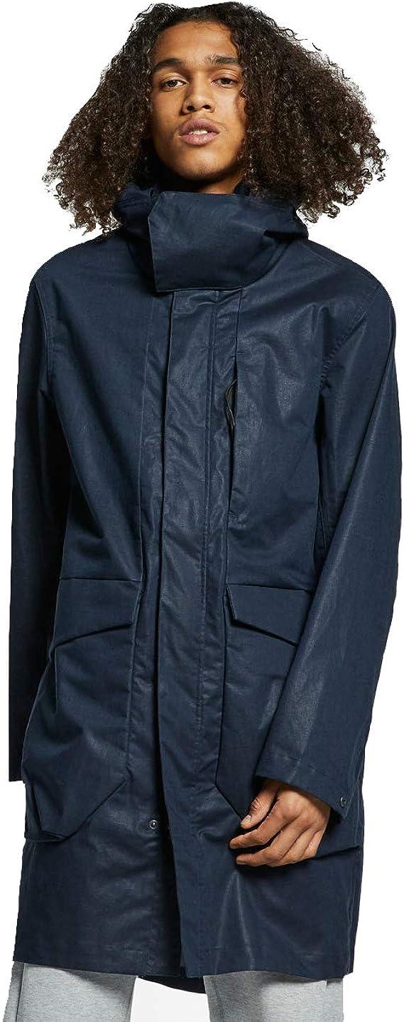 Nike Sportswear Tech Pack Mens Woven Parka (Obsidian, Large): Amazon.es: Ropa y accesorios