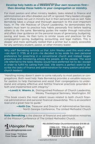 The Vile Practices of Church Leadership: Finance and Administration